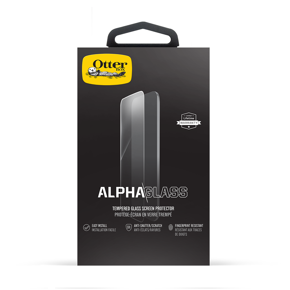 Otterbox - Clearly Protected Alpha Glass Screen Protector for Apple iPhone XR - Clear