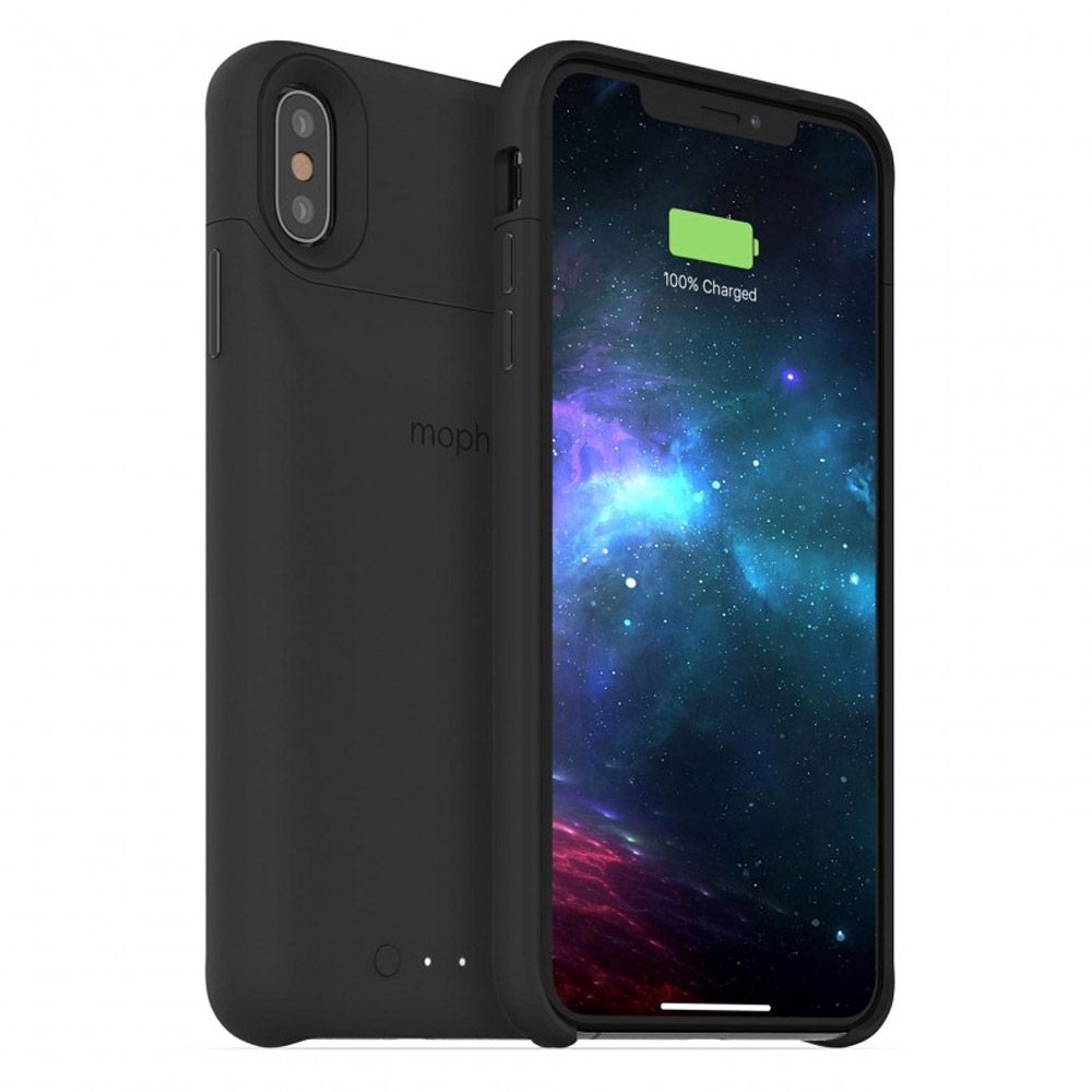 Mophie - juice pack access Power Bank Case 2,200 mAh for Apple iPhone Xs Max - Black