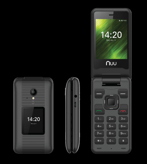 NUU Mobile F4L Flip Phone