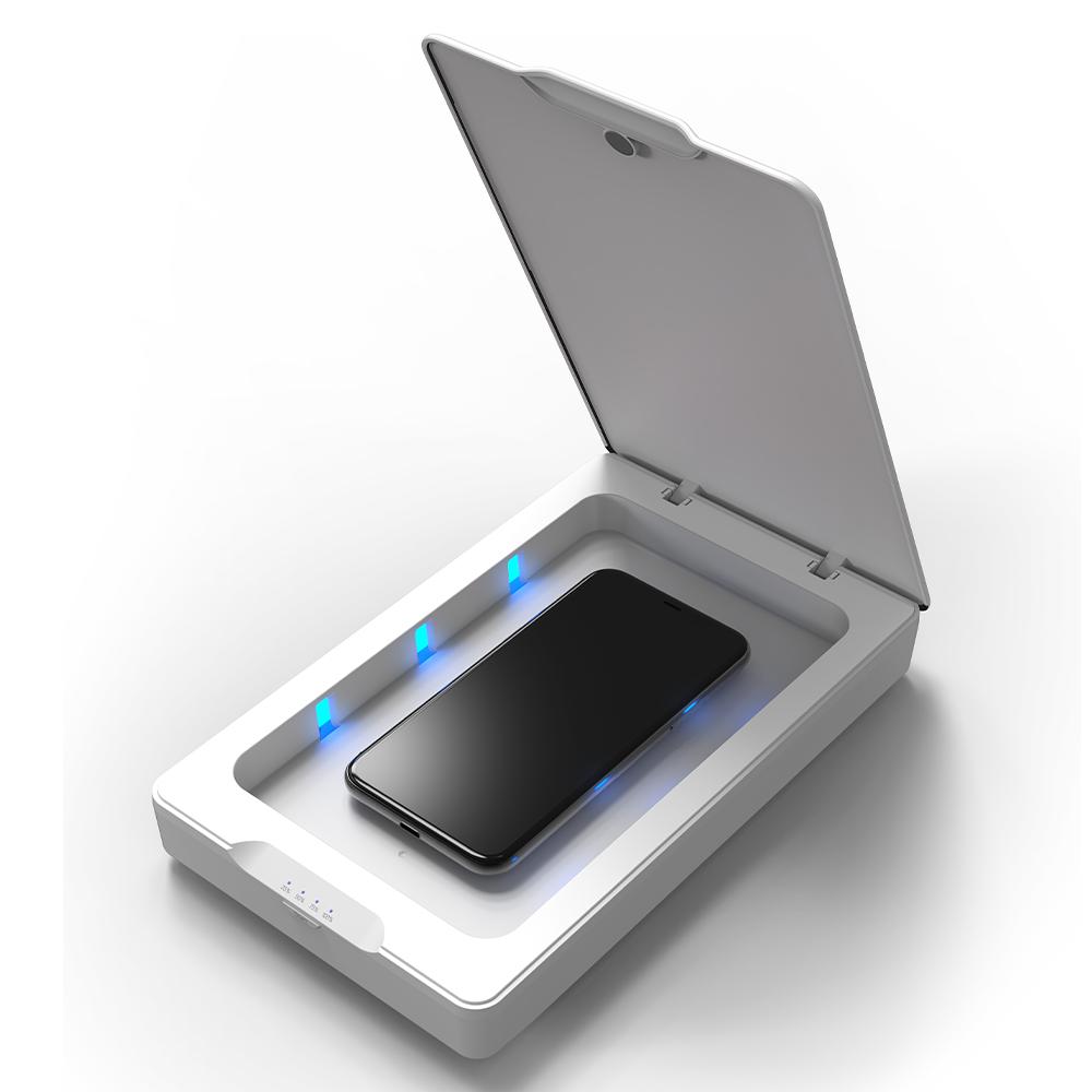 ZAGG - InvisibleShield UV Sanitizer - White