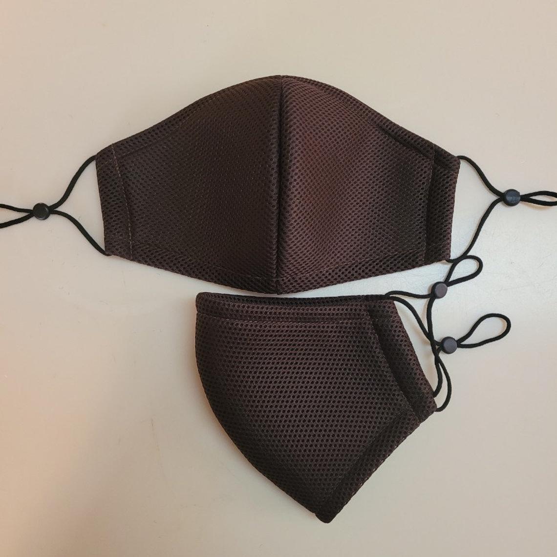 Single layer Mesh Mask Breathable Reusable Adult