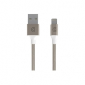 Griffin Usb To Lightning Usb Premium Braided Charge-sync Cable (10 Ft Length) - Gold