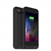 Mophie Juice Pack Air For Apple Iphone 7 - Rechargeable External Battery Case With Built In Wireless Charging (2,525mah) - Black