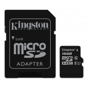 Kingston Class 10 16gb Micro Sdhc With Sd Adapter