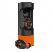 Motorola Verve Ones+ Wireless Waterproof Earbuds - Black/black