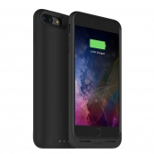 Mophie Juice Pack Air For Apple Iphone 7 Plus - Rechargeable External Battery Case With Built In Wireless Charging (2,420mah) - Black