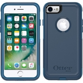 Apple Iphone 7 / Iphone 8 Otterbox Commuter Case - Indigo Way (maritime Blue And Admiral Blue)