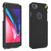 Apple Iphone 6 / Iphone 6s / Iphone 7 / Iphone 8 Puregear Hip Case Clip With Built In Credit Card Holder And Kickstand - Black