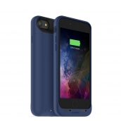 Mophie Juice Pack Air For Apple Iphone 7 / Iphone 8 - Rechargeable External Battery Case With Built In Wireless Charging (2,525mah) - Blue