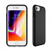 Apple Iphone 6 / Iphone 6s / Iphone 7 / Iphone 8 Speck Products Presidio Case - Black And Black