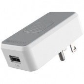 Single 12w Usb Wall Charger With Magnetic Mount