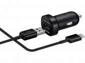 Samsung Fast Charge Vehicle Charger W Usb To Type C