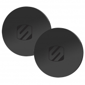 Scosche - Magicplates Round For Popsockets - Black