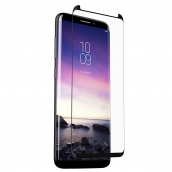 Zagg - Invisibleshield Elite Curved Full Adhesive Glass Screen Protector For Samsung Galaxy S9 Plus - Clear