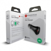 Dual Port Car Charger Quick Charge 3.0