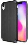 Protech - Rugged Armor Protective Case For Iphone Xr - Black