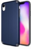 Protech - Rugged Armor Protective Case For Iphone Xr - Blue