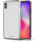 Borderline - Glimmer Dual Border Impact Protection For Iphone X Max - Pink
