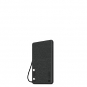 Mophie - Powerstation Plus Mini Power Bank 4,000 Mah For Micro Usb And Apple Lightning Devices - Black