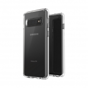 Speck - Presidio Stay Clear Case For Samsung Galaxy S10 - Clear