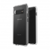 Speck - Presidio Stay Clear Case For Samsung Galaxy S10 Plus - Clear