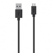 Belkin - Mixit Micro Usb Cable 10ft - Black