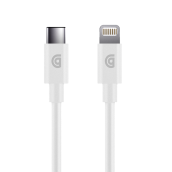 Griffin - Apple Lightning To Usb Type C Cable 3ft - White