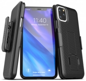 Duraclip Series Combo Case With Belt Clip Holster For Iphone 11 Pro Max (6.5)