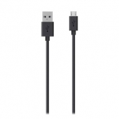 Belkin - Mixit Micro Usb Cable 4ft - Black