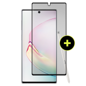 Gadget Guard - Black Ice Plus Cornice Flex Screen Protector For Samsung Galaxy Note 10 - Clear