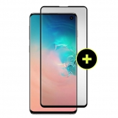 Gadget Guard - Black Ice Plus Cornice Flex Screen Protector For Samsung Galaxy S10 - Clear