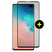 Gadget Guard - Black Ice Plus Cornice Flex Screen Protector For Samsung Galaxy S10 Plus - Clear