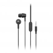 Motorola Pace 200 In-ear Metal Headphones - Black