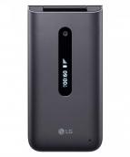 Lg Classic Flip 4g Lte Prepaid Flip Phone- Black - 4gb (locked) Kosher Tti