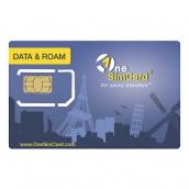 One Sim Sim Card Data & Roam