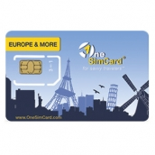One Sim Sim Cards Europe & More